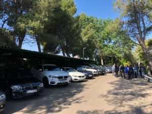 coches jornada conduccion evento empresarial efor bmw